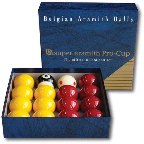 Billes ou Boules de Billard Pool Super Aramith Pro Aramith 50,8 mm