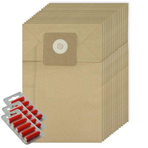 Spares2go Starke Staubbeutel für Cleanfix S10/S12 Staubsauger, Packung mit 15 + 15 Stück)