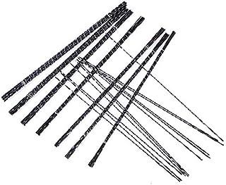 YUQIYU 12st / Set Metal Cutting Jig Blades Diamond Wire Saw Blade Cutter smycken Scroll Spiral Tänder träbearbetning Hand ...