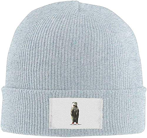 Style Otter Unisex Knitted Hat Stretchy Snowboarding Hat