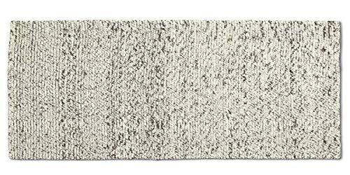 mds Les Tapis de Haute qualité, par Hay. - Peas - 100 x 300 cm, Gris Clair Mélange