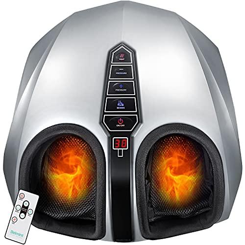 Belmint Shiatsu Foot Massager with Heat - Fathers Day Gift, Electric Deep-Kneading Massage...