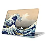 fintie rigida custodia per macbook pro 13 con/senza touch bar 2019/2018/2017/2016 (a2159/a1989/a1706/a1708) - ultra sottile plastica case cover copertina, rough sea