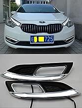 Auto-Tech Daytime Running Light,fog lamp Retrofit Car LED DRL Daytime light kit For 2013-2015 Kia K3 Cerato (with white color)