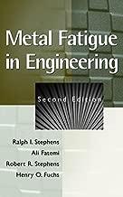 Best metal fatigue in engineering 2nd edition Reviews