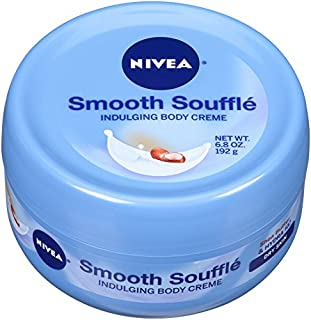NIVEA Smooth Souffle Indulging Body Creme, 6.8 Ounce