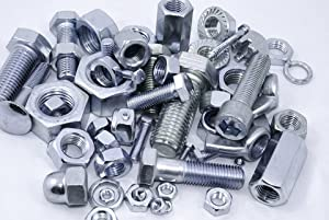 1//2-13 Square Nuts Heavy Steel 300pcs