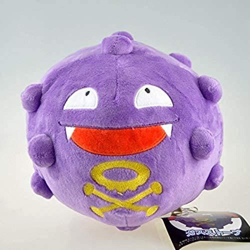 DINEGG Pokemon, 7-Zoll-Gasbombe, Plüschpuppe, Spielzeug, Puppe, Puppe (Farbe: 1, Größe: 18 cm) YMMSTORY (Color : 1, Size : 18cm)