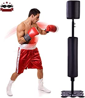 Sacos Pesados De Boxeo con Bomba De Pedal De Inflador De Aire para El Hogar Fitness 160 Cm Woniu Saco De Boxeo De Pie Libre
