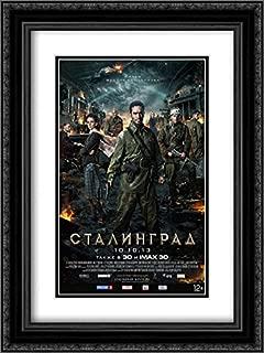 Stalingrad 18x24 Double Matted Black Ornate Framed Movie Poster Art Print
