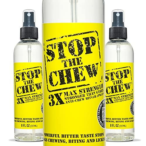 Emmy's Best Stop The Chew 3X Strength Anti Chew Bitter Spray Deterrent