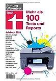 test Jahrbuch 2020: Über 100 detaillierte Tests und Reports - Ergebnisse zu Produkten und Angeboten - Umfangreicher Themenbereich I Von Stiftung Warentest
