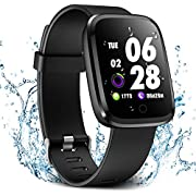 Verpro Smart Watch, Waterproof Fitness Activity Tracker with Heart Rate Monitor, Wearable Oxygen Blood Pressure Wrist Watch, Bluetooth Running GPS Pedometer Sport Wristband