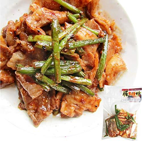 豚キムチ炒め にんにくの芽入り キムチ味 お徳用 焼くだけ 簡単 時短 焼肉 豚肉 《*冷凍便》 (12袋(3kg))