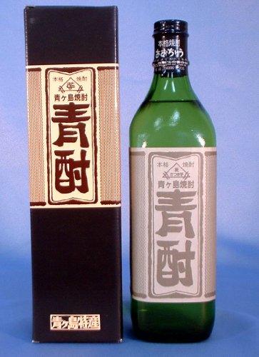青ヶ島酒造 青酎(あおちゅう)700ml 35°芋焼酎