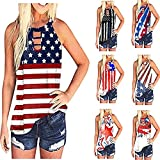 Tank Tops for Women, Summer Tie Dye Tank Tops for Women, Casual Sleeveless Loose Fit Cut Out Tank Tees Shirts Blouses Vest