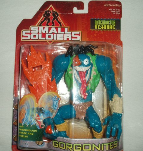 Small Soldiers : Witchdoctor Insaniac Figure by Kenner
