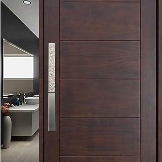 Atom 18 inches Aluminium Pull Handle | Silver Satin Finish | Door Handle | Office Cabinet Wardrobe Furniture Kitchen Drawe...