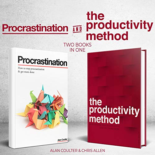 How to Stop Procrastination & Get More Done and The Productivity Method audiobook cover art
