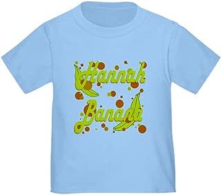 CafePress Hannah Banana Toddler T-Shirt Toddler Tshirt