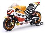 New Ray - 57663 - Véhicule Miniature - Modèle À L'échelle - Moto GP Honda Marco Marquez - Echelle 1/12