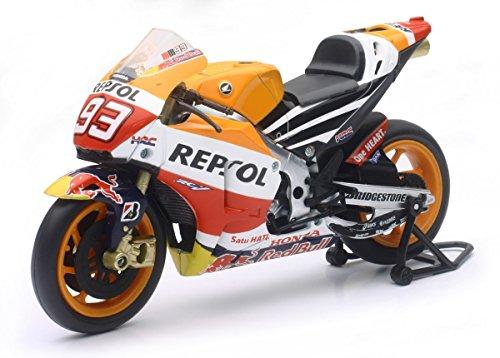 Nueva Ray - 57663 - Vehículo Ready - Modelo AT-Ancha - Honda Moto GP Marco Márquez - Escala 1/12