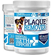 MediPaws® Plaque Off Remover Dogs 100g For Dog Teeth & Bad Breath | Just Add To Dog Food - No Need F...