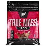 BSN True Mass 1200, Proteine in Polvere per Aumento della Massa Muscolare, Proteine del Latte e Carboidrati, Milkshake al Cioccolato, 15 Porzioni, 4.8 kg