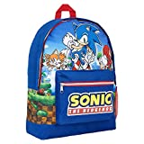 Sonic The Hedgehog Mochilas Escolares Para Niños, Mochila Niño Gran Capacidad, Mochila Infantil para Deporte Viaje Colegio, Regalos Para Niños Adolescentes