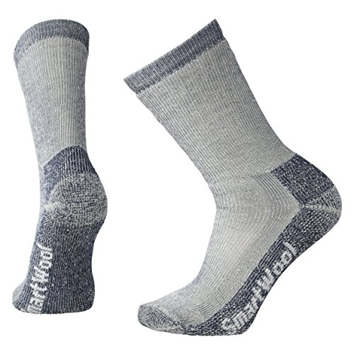 Smartwool Trekking Heavy Crew-Cut Socken grau/blau Schuhgröße M | EU 38-41 2021
