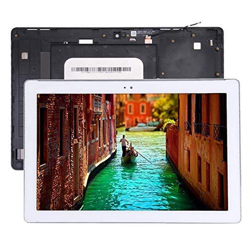 Pantalla LCD táctil para Asus ZenPad 10 Z300C / Z300CG P023, versión de cable flexible verde accesorios para teléfono móvil (color blanco)