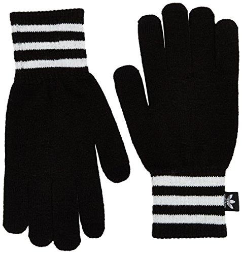 adidas Écran Tactile Gants Large Noir/Blanc