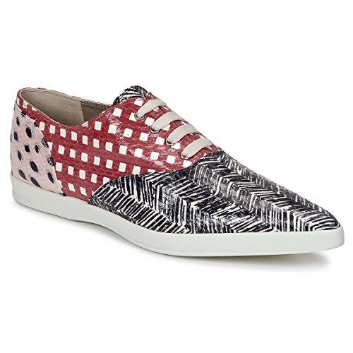 Marc Jacobs Elap Derbie & Richelieu Mujeres Negro/Blanco/Rojo - 38 - Derbie Shoes
