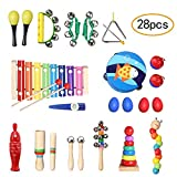 TOPERSUN 28pcs Instruments de Musique Enfant...