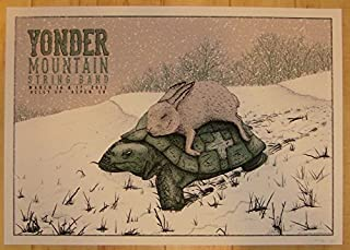 2013 Yonder Mountain String Band - Aspen Poster by Neal Williams