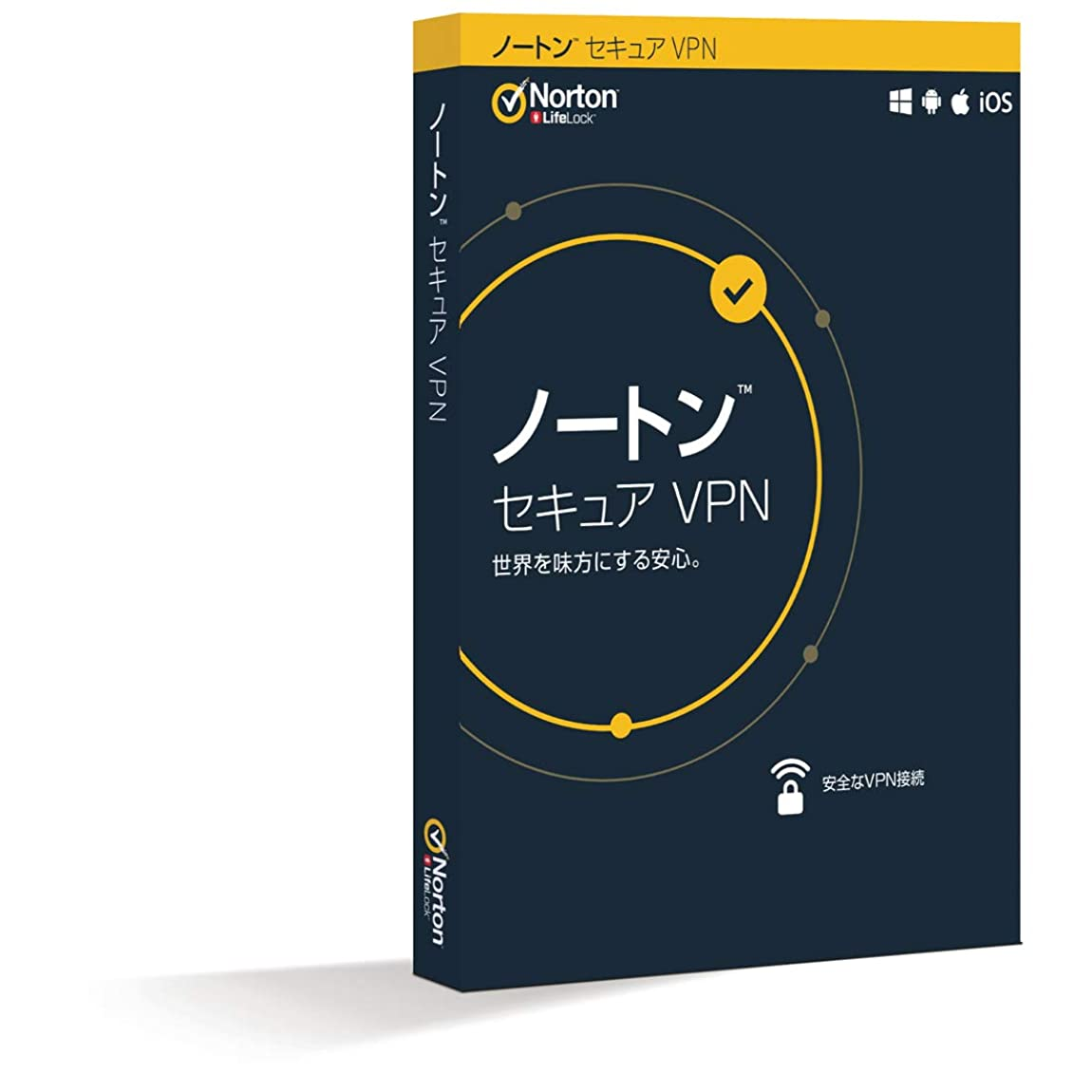 フラッシュのように素早くライター統計的ノートン セキュア VPN(最新)|1年1台版|パッケージ版|iOS/Windows/Android/Macintosh対応