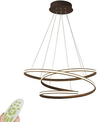 Amazon.com: Royal Pearl - Lámpara de araña LED circular ...