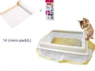 Manfâ Bolsas de Basura para Gatos 2 Paquetes (14 Bolsas),