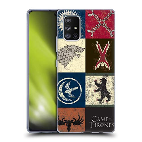 Head Case Designs Officially Licensed HBO Game of Thrones House Sigils Battle of The Bastards Soft Gel Case Compatible with Samsung Galaxy A71 5G (2020)