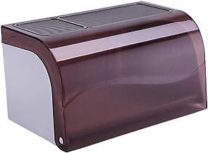 Toiletrolhouder, badkamerpapierrolhouder Toiletrolhouder voor keuken wasruimte -Bruin