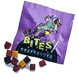 Supergarden Bites - Snack liofilizado de Frutas, verduras y bayas - 100% natural - Vegano - Sin aditivos ni conservantes (paquete de 10) (Bayas)