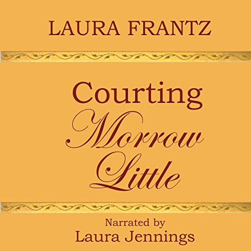 Courting Morrow Little audiobook cover art