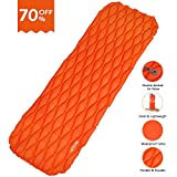 LATTCURE Sleeping Bag, Comfort Portable Lightweight Envelope Sleeping...