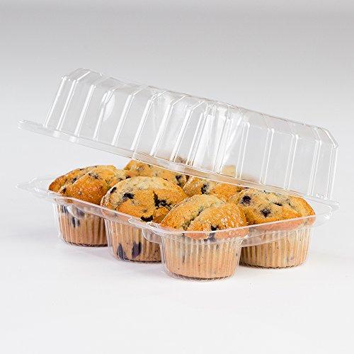 1/2 Dozen Cupcake Container (6 cavities), 350 ct.