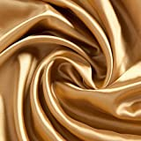 Gold Satin Fabric Background Backdrop Photo Booth Party Supplies Decoration Scene Setter Decor
