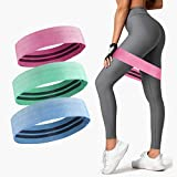 CNASA Resistance Bands, Fitness-Heimgymnastikbänder für Beine, Gesäß und Arme. Yoga, Pilates Resistant Band Mini Loop Bands, Therapie Stretch Band