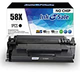 INK E-SALE Compatible Toner Cartridge Replacement for HP CF258X 58X (Black, 1-Pack), for use with HP Laserjet Pro M404dn M404n M404dw, HP Pro MFP M428fdw M428fdn M428dw, HP M304 Printer (No Chip)