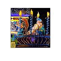 アラジン 映画 俳優 ウォールアート 部屋飾り キャンバス 絵画 ベッドルーム ポスター リビング 壁の絵20x20inch(50x50cm)