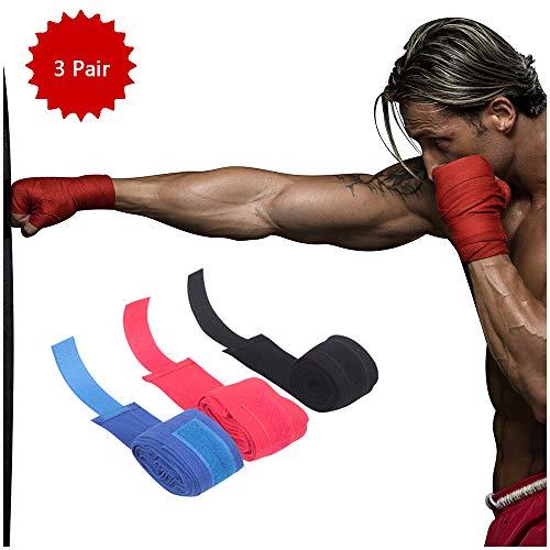 Elastische Verbanden Boksbandages Verbanden Boxing Boksbandages Kickboxing Handschoen Elastische Verbanden Boxing Fist Inner Gloves - 3pair,Male