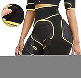 Levantador de glúteos invisible, moldeador de cintura alta, de neopreno, ultra ligero, invisible para mujeres M
